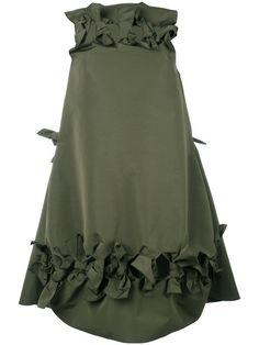 Maison Rabih Kayrouz bow detail flared dress