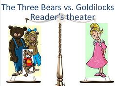 Reader's theater script: The Three Bears vs. Goldilocks 4 scenes (2 more optional ones), writing prompts and games for the judicial system.  $2.99