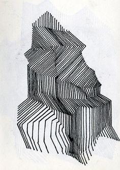 Faris Badwan // obvious bias, but love geometric and pen drawings