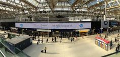 Some great OOH campaigns around. Here's @HP using Waterloo Motion for its campaign around a New Style of IT @M2MUK