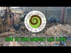 How to turn compost like a PRO