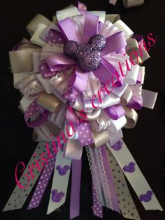 Beautiful baby shower or birthday corsages by Cristinascreations4u