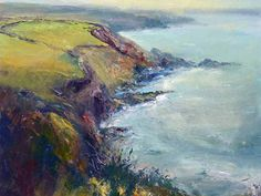 Renown Cornish artist Steve Slimm offering giclee prints, art cards and original watercolour paintings for sale. Steve is a landscape expressionist painter exhibiting abstract landscape paintings. Abstract Landscape Painting, Landscape Paintings, Landscapes, Watercolor Paintings For Sale, Paintings I Love, Giclee Print, Inspiring Pictures, Cornwall, Prints