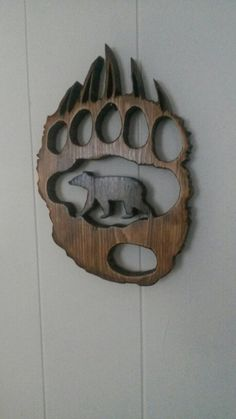 Bear paw idea o got here at pinterest! Thanks