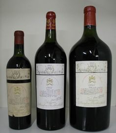 Chateau Mouton-Rothschild 1945 . France