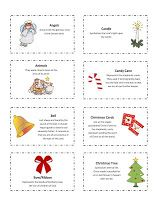 Our Home Creations: 25 Days of Christmas Symbols