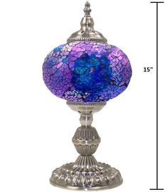 Shop for everything but the ordinary. More than sellers offering you a vibrant collection of fashion, collectibles, home decor, and more. Mosaic Glass, Glass Art, Stained Glass, Led Lantern, Lanterns, Turkish Lamps, Large Lamps, Retro Lamp, Handmade Table
