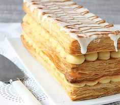 Try our vanilla & orange slice a refreshing take on the traditional vanilla slice made using Careme's Traditional French style All Butter Pufff Pastry