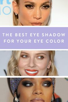 The Best Eye Shadow for Your Eye Color via @PureWow