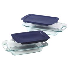 #Pyrex® Easy Grab™ 4-Piece Bakeware Value Pack - perfect for all your patriotic July 4th creations. BUY NOW!