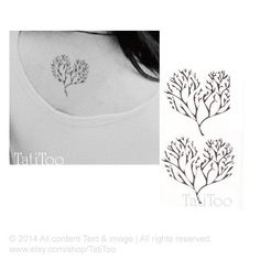 Love tree tattoo. Add two little birds, one blue one green for my boys with the saying  There are two gifts to give your children, one is roots, the other is roots.