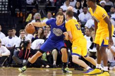 Los Angeles Clippers Blake Griffin, Golden State Warriors David Lee
