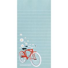 magnetic bicycle notepad
