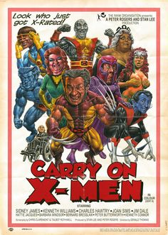 Carry on X-Men (Wow, not sure what to make of this one)
