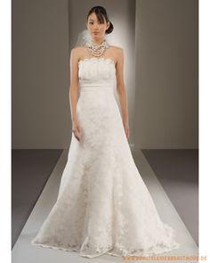 2013 Brautkleid aus Taft und Spitze Scoopausschnitt verziertes Mieder und  Rock mit Schleppe Verzieren, Mieder 3609c229da
