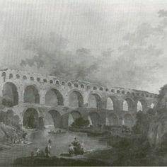 Hubert Robert, Le Pont du Gard. Paris, Musee du Louvre.