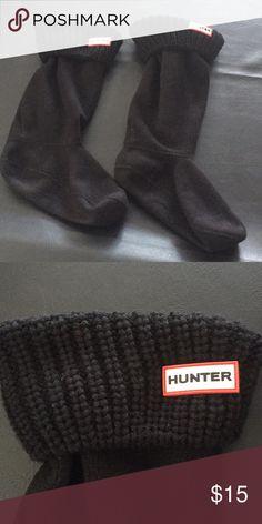 Hunter Boot Socks. For tall boots. Black Hunter boot socks. Gently used. Hunter Other
