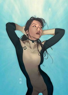 New Mutants by Joshua Middleton http://geekshizzle.com/2013/05/25/top-5-amazing-comic-book-artists-set-3/