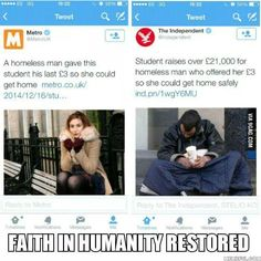 Faith in humanity restored. ||| A Small Act Of Kindness Can Bring Smile On Million Faces