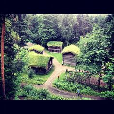 My friend Oscar Duarte is traveling in #Norway and took this beautiful photo! Norsk Folkemuseum in #Oslo.