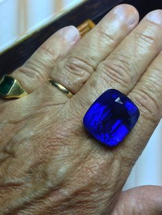 Very fine, over 70 carats, unheated, top, Ceylon Sapphire.