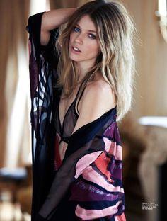 Masha Novoselova | Photo Daily | Model Diary  http://model-diary.com/2014/10/07/masha-novoselova-photo-daily/