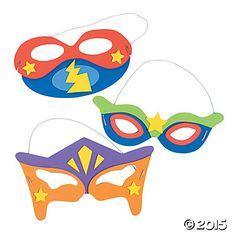 Superhero Mask Craft Kit - Oriental Trading