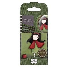 #Gorjuss collectable rubber stamp -santoro #-no.14 #little red for crafts,  View more on the LINK: 	http://www.zeppy.io/product/gb/2/151898134982/