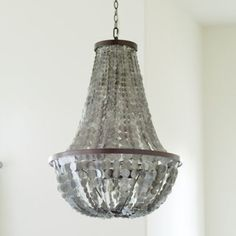 Alessandra 5-Light Chandelier in Oil rubbed bronze with pale grey capiz  shell. Overall