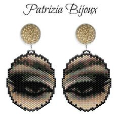 Earring cm x 33 x 30 16 colors beading tutorials beading patterns bead tutorials bead patterns Patrizia Bijoux jewelry tutorials beading tutorial Earring Tutorial, Beaded Bracelet Patterns, Beading Patterns, Seed Bead Jewelry, Beaded Jewelry, Beaded Brooch, Textile Jewelry, Earrings, Diy Jewelry