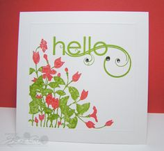 Hello Bling by CuttersCallous - Cards and Paper Crafts at Splitcoaststampers