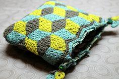 facile cecile crochet purse
