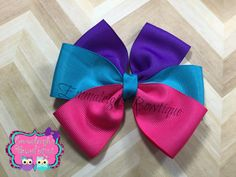 A personal favorite from my Etsy shop https://www.etsy.com/listing/286442771/solid-color-bow-turquiose-pink-and