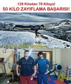 ZAYIFLAMA KAMPI 3 Ayda 40 Kilo ZAYIFLAMA Başarısı! 50th