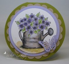 F4A317 Posy Patch vky by Vickie Y - Cards and Paper Crafts at Splitcoaststampers