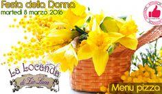 Festa Della Donna: Menù Pizza Da La Locanda Di Zio Luca http://affariok.blogspot.it/2016/03/festa-della-donna-menu-pizza-da-la.html