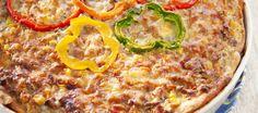 Juustoinen jauhelihapiirakka | Suolaiset leivonnaiset | Reseptit – K-Ruoka