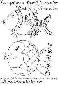poisson d'avril à imprimer 1