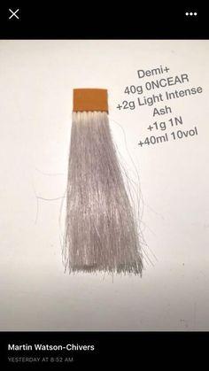 Silver Toner, Aveda Hair Color, Hair Color Formulas, Hair Tools, About Hair, Cut And Color, Pretty Hairstyles, Hair Makeup, Hair Coloring