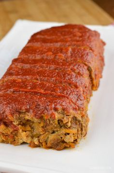 Slimming Eats Beef and Sweet Potato Meatloaf - gluten free, dairy free, paleo, Whole30, Slimming World and Weight Watchers friendly