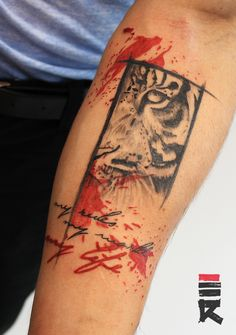 Tiger tattoo by enhancertattoo on DeviantArt