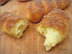 Limara péksége: Cukros-fahéjas rúd Hungarian Desserts, Hungarian Recipes, Pastry Recipes, Cookie Recipes, Dessert Recipes, Albanian Recipes, Sweet Cookies, Sweet Pastries, Almond Cakes