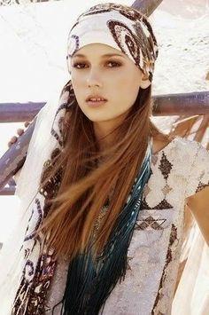 Mujer: Estilo y Belleza: Pañuelos para la Playa 2015