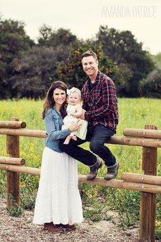 Rustic family photo shoot
