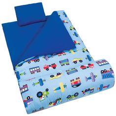 Olive Kids Trains, Planes & Trucks Sleeping Bag - 17079