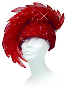 Signature Series - Victoria - Church Hats Collection - 1001 Church Hats You know this is a Mother of the Church hat. Fascinator Hats, Fascinators, Headpieces, Red Hat Club, Red Hat Ladies, Red Hat Society, Crazy Hats, Church Hats, Kentucky Derby Hats