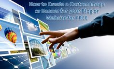 Have you ever been browsing different blogs and websites and wondered where all those custom graphics come from? Usually they pay to have them made. But if you're just getting starting, and/or you're operating on a shoestring budget, wouldn't it be nice to be able to create your own custom images or banners by yourself, for free? I'll show you how inside. It's fast, it's easy, and it's free!