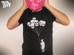 Girl with skull balloon t shirt.  http://www.etsy.com/listing/89200719/t-shirt-little-girl-holding-skull