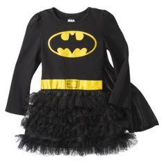 Infant Toddler Girls' Batman Tunic Dress  If I had a lil girl.