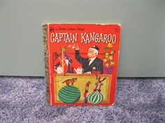 Captain Kangaroo Little Golden Book